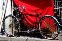 Smooth Ride (Gem Images) Tags: transportation bicycle custom chain wroughtiron