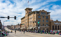 Hotel Baker (Jim Frazier) Tags: 2018 20180310stpatricksdayparadestcharles 3d3layer bakerhotel bluesky bricks building buildings business businessdistrict cityurban cityscape concrete crowds district downtown festival historic historical history hotelbaker illinoisroute64 irish jimfraziercom kane landscape leadinglines mainstreet march nationalregisterofhistoricplaces nrhp parade party people q3 saintcharles scenery scenic spectators spring stpatricksday stcharles street streetsstreet scenemain structure structures sunny thewaterfront urban vanishingpoint