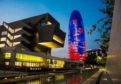 Distrito tecnológico. 22@ (De carrusel) Tags: 2018 ciudad nocturnas carrusel barcelona catalunya españa es