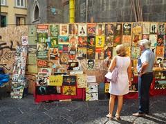 Mercatino all'aperto al centro di Napoli (alexgall83) Tags: streetphotography streetphoto streetmarket napoli naples