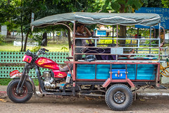 Tuk Tuk in the Shade (shapeshift) Tags: myanmar southeastasia asia theorient travel streetphotography people man resting transport transportation tuktuk davidpham davidphamsf shapeshift shapeshiftnet burma sittwe rakhine myanmarburma mm arakan arakanese rakhinestate documentary