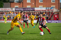 Altrincham FC vs Boston United - August 2018-135 (MichaelRipleyPhotography) Tags: altrincham altrinchamfc altrinchamfootballclub alty ball bostonunited community fans football footy goal header jdavidsonstadium kick mosslane nationalleaguenorth nonleague pass pitch preseason referee robins salfordcity save score semiprofessional shot soccer stadium supporters tackle team vanarama