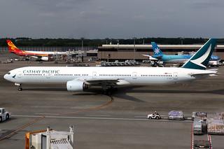 Cathay Pacific | Boeing 777-300 | B-HNP | Tokyo Narita