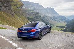 BMW M5 F90 (Nico K. Photography) Tags: bmw m5 f50 blue luxury supercars view mountains nicokphotography switzerland klausenpass