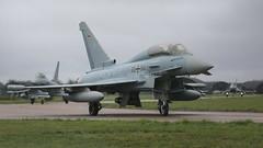 30+84 EF2000 TYPHOON GERMAN AF (MANX NORTON) Tags: 3084 ef2000 typhoon german af exercise cobra warrior 2018