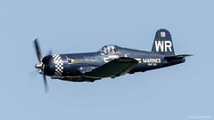 F4U Corsair (dpsager) Tags: 2018 airventure dpsagerphotography eaa eaaoshkoshairshow f4ucorsair military oshkosh usmc wisconsin aircraft airplane airshow