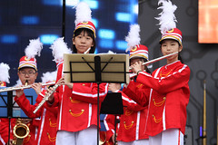 IMGL4048 (taticoma) Tags: brassband brass music musician child china red school teenage girl girls flute flutist