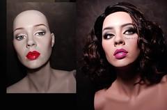 Simone (dashndazzle) Tags: dashndazzle mannequin makeup glass eyes rootstein simone impact collection