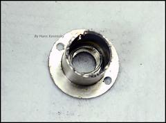 Certo Dollina II Repair Notes (31) (Hans Kerensky) Tags: certo dollina ii rangefinder folder repair removed shoulder transport axle spring