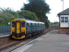 150221 Par (6) (Marky7890) Tags: gwr 150221 class150 sprinter 2c51 par railway cornwall cornishmainline train