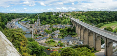 Dinan (Laetitia.p_lyon) Tags: fujifilmxt2 dinan panorama bretagne brittany breizh pont bridge 2018