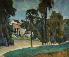 Paul Cézanne - Road at Pontoise, 1877 at French Landscape Paintings from The Pushkin State Museum of Fine Arts Moscow at Tokyo Metropolitan Art Museum Tokyo Japan (mbell1975) Tags: cézanne taitōku tōkyōto japan jp paul cezanne road pontoise 1877 french landscape paintings from the pushkin state museum fine arts moscow tokyo metropolitan art museo musée musee muzeum museu musum müze museet finearts gallery gallerie beauxarts beaux galleria painting impression impressionist impressionism