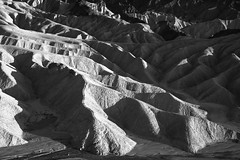 Clay Fingers (courtney_meier) Tags: california deathvalley deathvalleynationalpark landscape nationalpark usnationalpark zabriskiepoint desert erosion evening eveninglight magichour monochrome sunset
