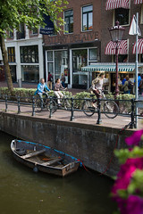 The cycling life (Juha Helosuo) Tags: jordaan amsterdam northholland canon eos 5d mark iv ef24105mm f4l is usm bikes bike bicycle bicycling cycling people traffic canal city downtown life street photography boats architecture view