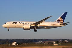 United Airlines  Boeing 787-8 Dreamliner N20904 (widebodies) Tags: zürich zrh lszh widebody widebodies plane aircraft flughafen airport flugzeug flugzeugbilder united airlines boeing 7878 dreamliner n20904