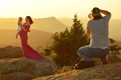 Mother and daughter sunset photoshoot (radargeek) Tags: wichitamountains wildliferefuge oklahoma 2018 august mountscott mother pregnant baby child parent photographer shootingtheshooter sunset flower family