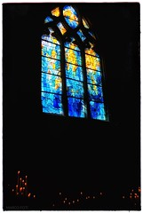 Eglise Saint-Crépin (MarcoFoti) Tags: christmas christianity religion inside exploring travelling interiors churches windows gold flickrtravelaward river marne boattrip chateauthierry church france