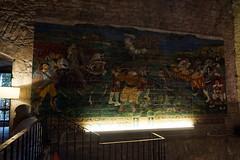Fontarrabie, Fontarrabie, Fresque à l'intérieur du Parador de Hondarribia (vincent_dandrieubergez) Tags: fontarrabie