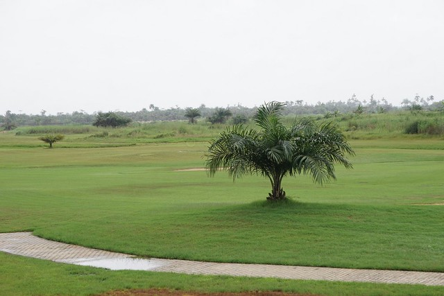 HSDickson- Project Inspection of Bayelsa Golf Course.