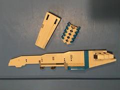 LEGO - SHIPtember - WiP - just playing around with some ideas. (k9iug) Tags: spaceship legohomeworld homeworld lego legoshiptember shiptember shiptember2018