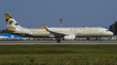 A6-AEH Etihad Airways Airbus A321-231(WL) (natan_ivanov83) Tags: uudd dme domodedovo spotting airbus a321