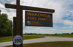 Wakonda State Park, Missouri (Tony Webster) Tags: missouri missouridnr missouridepartmentofnaturalresources wakondastatepark entrance sign signage statepark lagrange unitedstates us