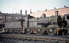 1961 - Vintage 3F at Bedford. (Robert Gadsdon) Tags: 1961 mr johnson 3f 060 43474 bedfordlocoshed steam withdrawn scrapped closedshed