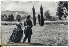 _EMA0079 (ema.mon) Tags: mustonate borgo borgodimustonate italia lombardia varese woman man maneggio rievocazionestorica 800 blackandwhitephotography blackandwhite