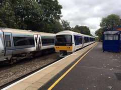Chiltern 165 028 @Warwick (Kris Davies (megara_rp)) Tags: warwick warwickshire railway stations trains
