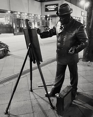 The painter!🎨 (Photolover03) Tags: budapest city night photo painter