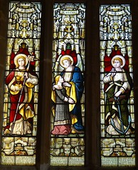 East Haddon, Northamptonshire (Sheepdog Rex) Tags: stainedglass stmaryschurch easthaddon