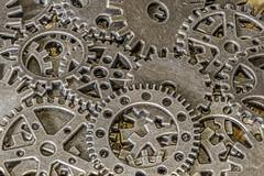 Cogs and More Cogs... (toonarmy59) Tags: macromonday cogwheel cogs brass macro desktopphotography indoors