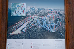 Grouse mountain Ski map