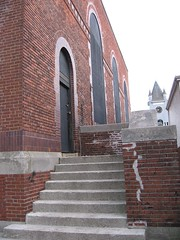 Roslindale Substation (National Register) Tags: history historic place property massachusetts boston transportation architecture engineering