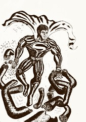 Digital illustration of Superman. Worked on this for a few days, was good fun. I'm fairly happy with the outcome.  #Superman #clarkkent #manofsteel #Krypton #lastsonofkrypton #superheroes #Digital #illustration #Drawing #henrycavill #GraphicArt #blackandw (MYLES-ART LTD) Tags: blackandwhite manofsteel illustration cosplay bamboo krypton adobeillustrator clarkkent instagram henrycavill tablet dc superman touchscreen geeks comics dccomics technology comiccon graphicart superheroes digital wacom lastsonofkrypton drawing nerds