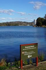 Bargang Beach Lake Ginninderra Belconnen (spelio) Tags: act canberra australia