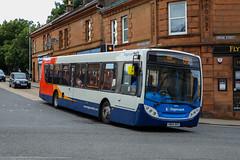 28704 YN64AHZ Stagecoach Western (busmanscotland) Tags: 28704 yn64ahz stagecoach western yn64 ahz scania k230ub ad alexander dennis e300 enviro 300
