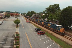 CSX U444-11 (Steve Hardin) Tags: locomotive engine diesel csx wa westernatlantic railroad railway railfan coal train es40dc cartersville georgia