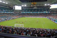 Man City vs Bayern Munich @ Miami Hard Rock (Infinity & Beyond Photography) Tags: miami hard rock stadium icc soccer match football game field stands floodlights people players manchester city bayern munich club night pitch crowd
