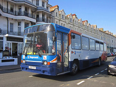 Stagecoach In East Kent 20609 L609TDY (harryjaipowell) Tags: stagecoachineastkent 20609 l609tdy stagecoach eastkent folkestone depot drivertrainer volvo b10m55 b10m alexander ps dp48f southcoastbuses 1994 609 grandparade eastbourneseafront eastsussex bus coach sold scrapped stagecoachsussexcoastline sussexcoastlinebuses