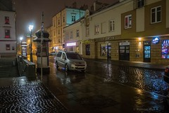 Rzeszów (nightmareck) Tags: rzeszów podkarpackie podkarpacie polska poland europa europe fotografianocna bezstatywu night handheld rain deszcz fujifilm fuji fujixe1 fujifilmxe1 xe1 apsc xtrans xmount mirrorless bezlusterkowiec xf18mm xf18mmf20r fujinon pancakelens