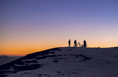 cycling to the glowing hills (ujjal.maharjan) Tags: cycling nepal adventure sunrise snow cimate nature thrill energy beauty scene friends alive fresh cold hills adrenaline tourism photography