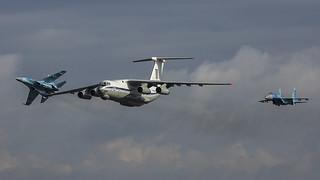 78820, Ilyushin Il-76MD Ukraine Air Force @ Kleine Brogel EBBL
