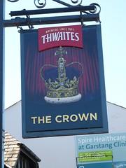 Pub Sign - The Crown, High Street, Garstang 180625 (maljoe) Tags: garstang lancashire pubsigns pubsign publichouse pub pubs inns inn tavern taverns