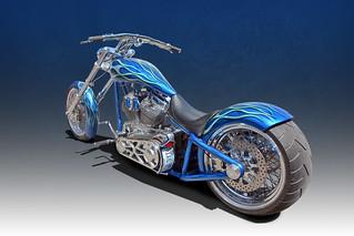 Hop On Go For A Ride - 2010 Custom Chopper