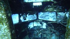 BODRUM (Erezkan) Tags: airplane dive wreck bodrum yalıçiftlik uçak batık sualtı underwater pilot old turkey kokpit cockpit