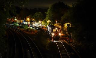 Whitacre Junction derailment, 1X99 arrives