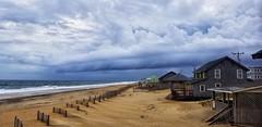 Hurricane Florence (greensboropenguin) Tags: kittyhawk northcarolina greenboropenguin beach outerbanks sand vacation hurricaneflorance nc