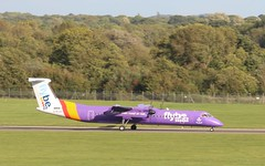 G-ECOH FlyBe DHC-8 Q400 SOU 210918 (kitmasterbloke) Tags: sou southampton aircraft aviation airliner transport hampshire outdoor