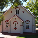 Gayndah. This third Catholic church in the town was built and consecrated in 1915. The first two wooden churches were lost in fires. thumbnail